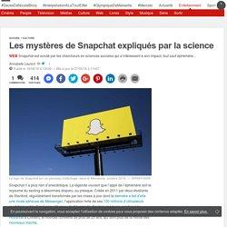Les mystères de Snapchat expliqués par la science