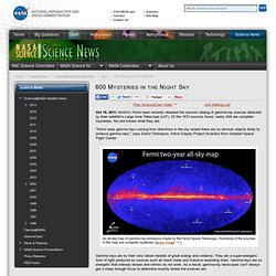 600 Mysteries in the Night Sky - NASA Science - Iceweasel