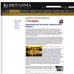 Earth Mysteries: Stonehenge and the Druids, Salisbury Plain, Wiltshire