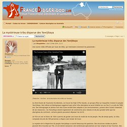 La mystérieuse tribu disparue des Yawijibaya : Culture Aborigène en Australie