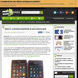 Xperia SP : le mystérieux smartphone de Sony se dévoile enfin - Phonandroid