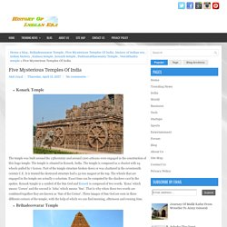 Five Mysterious Temples Of India