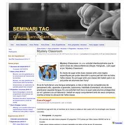 Mystery Classroom - Seminari TAC Gràcia / Sarrià-Sant Gervasi