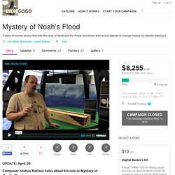 Mystery of Noah's Flood