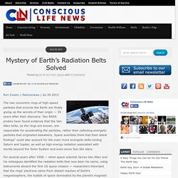 Mystery of Earth's Radiation Belts Solved