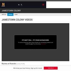 Mystery at Roanoke Video - Jamestown Colony