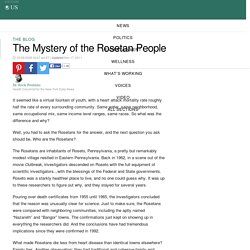 The Mystery of the Rosetan People