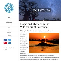 Magic and Mystery in the Wilderness of Botswana Tour