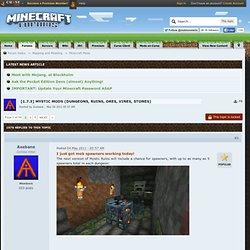 7.3] Mystic Mods (Dungeons, Ruins, Ores, Vines, Stones)