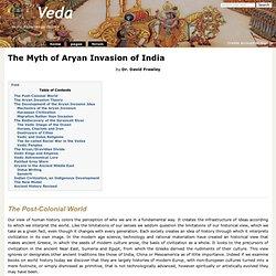 The Myth of Aryan Invasion of India