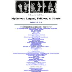 Myth, Legend, Folklore, Ghosts - StumbleUpon