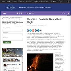 Samhain: Sympathetic Magic – JCF: Home