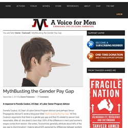 MythBusting the Gender Pay Gap