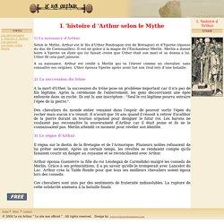 L'histoire d 'Arthur selon le Mythe