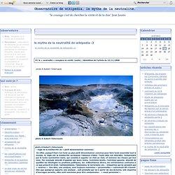 le mythe de la neutralité de wikipedia -3