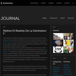 Mythes et réalités de la génération Y