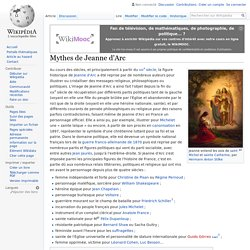 Mythes de Jeanne d'Arc