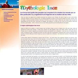 Mythes et légendes des incas