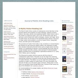 Mythic Reading Lists