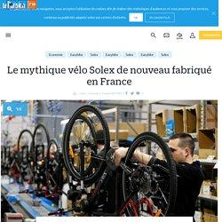 Le mythique vélo Solex de nouveau fabriqué en France - Le Parisien