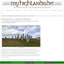 Callanish Stones - mythischer Steinkreis