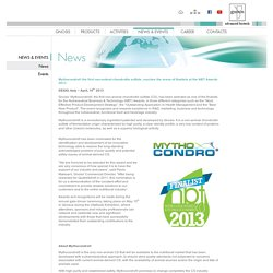 Mythocondro® the first non-animal chondroitin sulfate, reaches the arena of finalists at the NBT Awards 2013