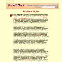 Mythologie.