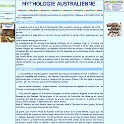 Mythologie australienne
