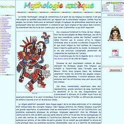 Mythologie azteque