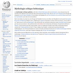 Mythologie celtique brittonique