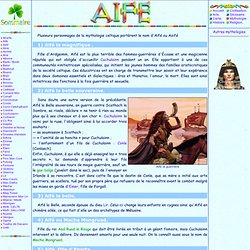 Mythologie celtique: Aïfé