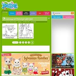 Coloriage MYTHOLOGIE GRECQUE : 62 coloriages en ligne gratuit pour les enfants (page 5)