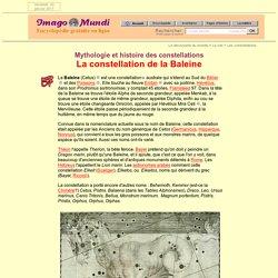 La Baleine (mythologie et histoire des constellations).