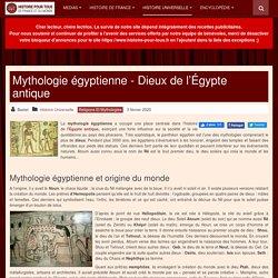 Mythologie égyptienne et dieux égyptiens