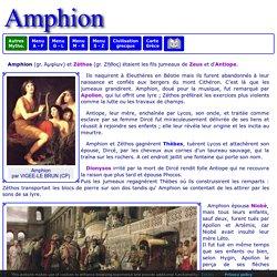 Mythologie grecque : Amphion et Zéthos