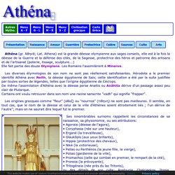 Mythologie grecque : Athéna 1