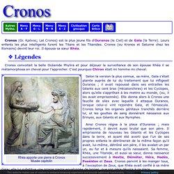 Mythologie grecque : Cronos