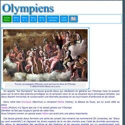 Mythologie grecque : les divinités de l'Olympe