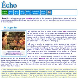Mythologie grecque : Echo