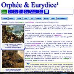 Mythologie grecque: Orphée et Eurydice