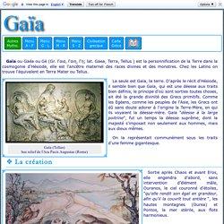 Mythologie grecque : Gaia