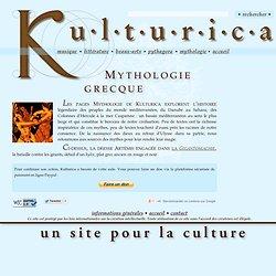Les pages Mythologie grecque du site Kulturica