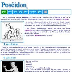 Mythologie grecque : Poséidon 1