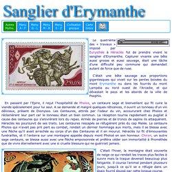 Héraclès et le sanglier d'Erymanthe