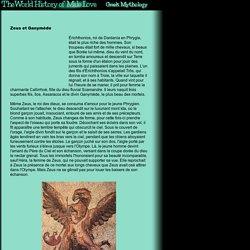 Mythologie Gay - Gr ce - Zeus et Ganym de - L'Histoire de l'Homosexualit