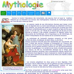 Mythologie grecque : introduction.