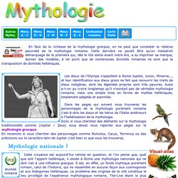 Mythologie romaine : introduction