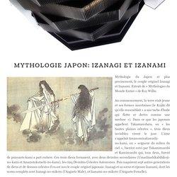 Mythologie Japon: Izanagi Et Izanami