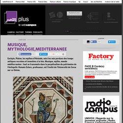 MUSIQUE, MYTHOLOGIE,MEDITERRANEE