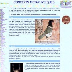 concepts metaphysiques